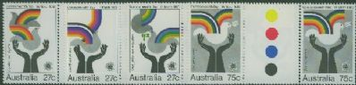 SG 882-5 1983 Commonwealth Day set of 4 (AF1/91)